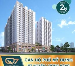 Q7 Boulevard Quận 7 Shophouse trệt và lửng đường Nguyễn Lương Bằng